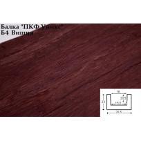Балки из полиуретана Б4 (вишня) (20,5*23*300) классика Уникс Lepnina-Sale.ru