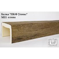Балки из полиуретана М11 (олива) (11*12*300) модерн Уникс Lepnina-Sale.ru