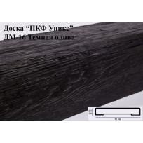 Доски из полиуретана ДМ-16 (Тёмная олива) (16*2,5*200) Уникс Lepnina-Sale.ru