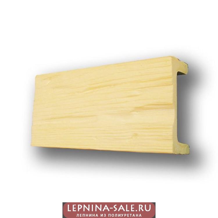 Балки из полиуретана СС3 (под покраску) (19*9,5*300) славянский стиль Уникс Lepnina-Sale.ru