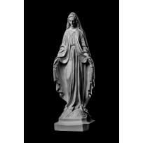 Статуя Дева Мария ST-019 Декор из стекловолокна Decorus Lepnina-Sale.ru