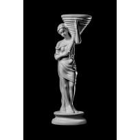 Статуя Цветочница ST-004 Декор из стекловолокна Decorus Lepnina-Sale.ru