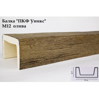 Балки из полиуретана М12 (олива) (12*6*300) модерн Уникс Lepnina-Sale.ru