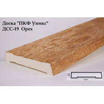 Доски из полиуретана ДСС-19 (орех) (19*3,5*200) Уникс Lepnina-Sale.ru