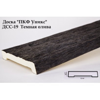 Доски из полиуретана ДСС-19 (темная олива) (19*3,5*200) Уникс Lepnina-Sale.ru