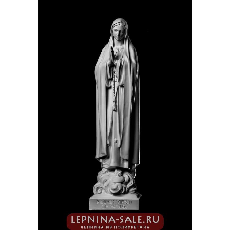 Статуя Богоматерь Фатимская ST-017 Декор из стекловолокна Decorus Lepnina-Sale.ru