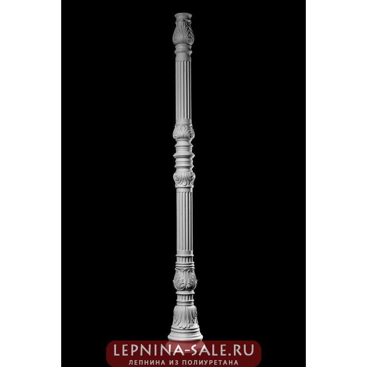 Столб фонарный SF-001 Декор из стекловолокна Decorus Lepnina-Sale.ru