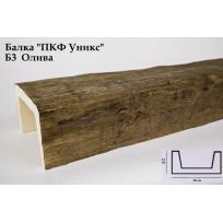Балки из полиуретана Б3 (олива) (20*13*300) классика Уникс Lepnina-Sale.ru