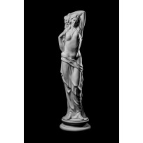 Статуя Девушка с виноградом ST-007 Декор из стекловолокна Decorus Lepnina-Sale.ru