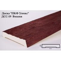 Доски из полиуретана ДСС-19 (вишня) (19*3,5*200) Уникс Lepnina-Sale.ru