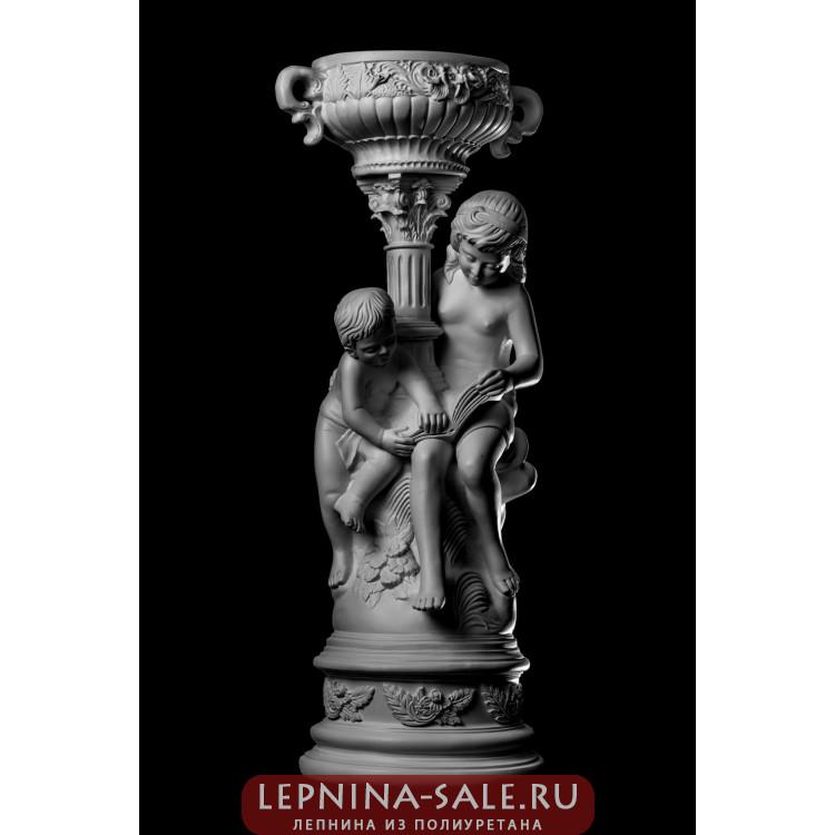 Статуя Брат с сестрой ST-005 Декор из стекловолокна Decorus Lepnina-Sale.ru