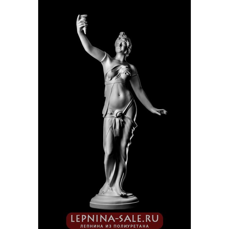 Статуя Девушка с факелом ST-001 Декор из стекловолокна Decorus Lepnina-Sale.ru