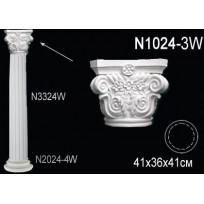 Декоративная колонна N1024-3W Lepnina-Sale.ru