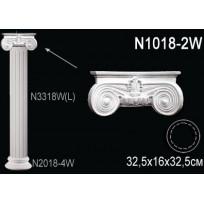 Декоративная колонна N1018-2W Lepnina-Sale.ru