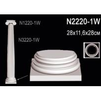 Декоративная колонна N2220-1W Lepnina-Sale.ru