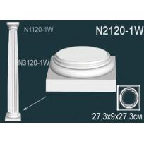 Декоративная колонна N2120-1W Lepnina-Sale.ru