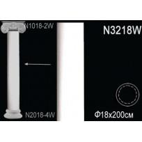 Декоративная колонна N3218W Lepnina-Sale.ru
