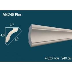 Потолочный плинтус гибкий AB248F