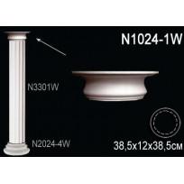 Декоративная колонна N1024-1W Lepnina-Sale.ru