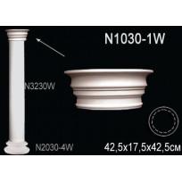 Декоративная колонна N1030-1W Lepnina-Sale.ru