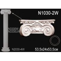 Декоративная колонна N1030-2W Lepnina-Sale.ru