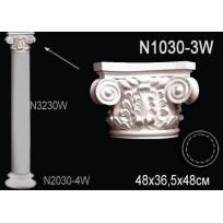 Декоративная колонна N1030-3W Lepnina-Sale.ru