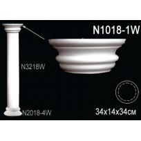 Декоративная колонна N1018-1W Lepnina-Sale.ru