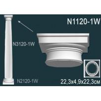 Декоративная колонна N1120-1W Lepnina-Sale.ru