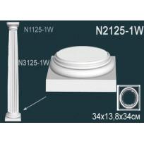 Декоративная колонна N2125-1W Lepnina-Sale.ru