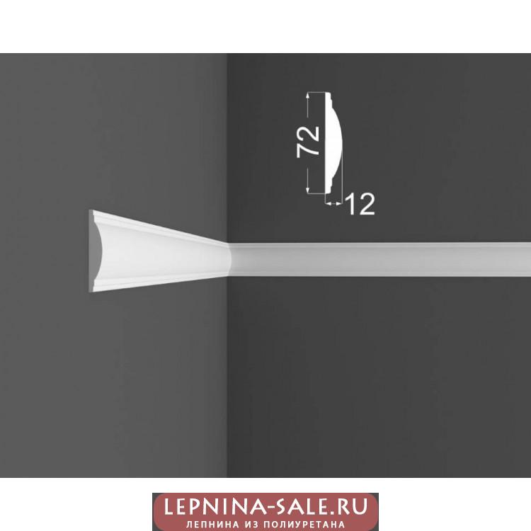 Молдинг M 10.72.12 DEARTIO (ДеАртио) МДФ Белый Lepnina-Sale.ru