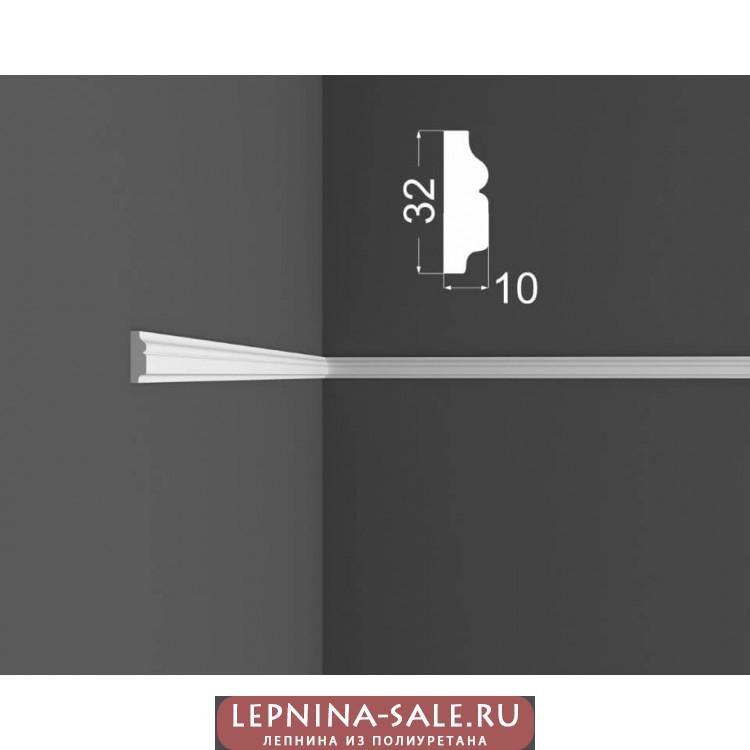 Молдинг М 4.32.10 DEARTIO (ДеАртио) МДФ Белый Lepnina-Sale.ru