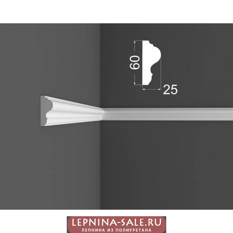 Молдинг M 6.60.25 DEARTIO (ДеАртио) МДФ Белый Lepnina-Sale.ru