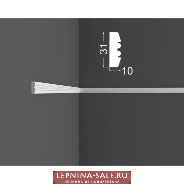 Молдинг M 9.31.10 DEARTIO (ДеАртио) МДФ Белый Lepnina-Sale.ru