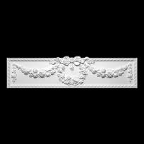 Дверной Сандрик из полиуретана 1.63.003 Европласт Lepnina-Sale.ru