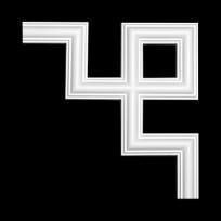 Угловой элемент из полиуретана 1.52.286 Европласт Lepnina-Sale.ru