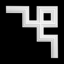 Угловой элемент из полиуретана 1.52.287 Европласт Lepnina-Sale.ru