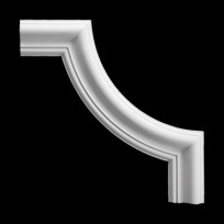Угловой элемент из полиуретана 1.52.301 Европласт Lepnina-Sale.ru