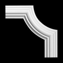 Угловой элемент из полиуретана 1.52.308 Европласт Lepnina-Sale.ru