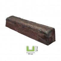 EQ 107 (3 м, тёмная) Балка декоративная Lepnina-Sale.ru