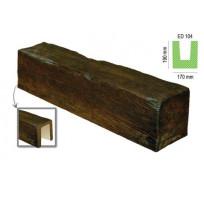 ED 104 (2 м, темная) (U) Балка декоративная Lepnina-Sale.ru