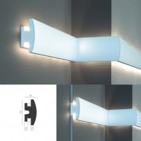 Tesori KD 305 - встраиваемый молдинг для LED подсветки Lepnina-Sale.ru