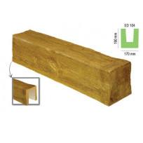 ED 104 (2 м, светлая) (U) Балка декоративная Lepnina-Sale.ru