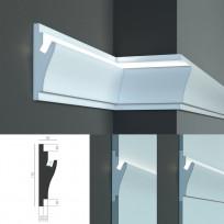 Tesori KD 403 - встраиваемый молдинг для скрытой LED подсветки Lepnina-Sale.ru