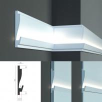 Tesori KD 405 - встраиваемый молдинг для скрытой LED подсветки Lepnina-Sale.ru