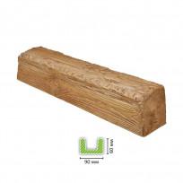 EQ 107 (3 м, светлая) Балка декоративная Lepnina-Sale.ru