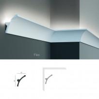 Полиуретановый потолочный карниз под подсветку Tesori KF 702 Lepnina-Sale.ru