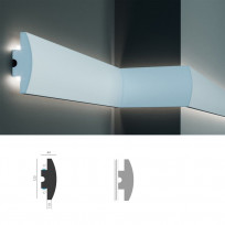 Tesori KD 506 - встраиваемый молдинг для LED подсветки Lepnina-Sale.ru
