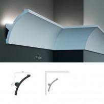 Полиуретановый потолочный карниз под подсветку Tesori KF 708 Lepnina-Sale.ru
