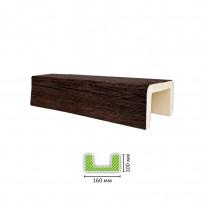 ED 606 (3 м, темная) Балка декоративная Lepnina-Sale.ru