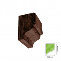 ED-C 606 (темная) Консоль для балки ED 606 Lepnina-Sale.ru